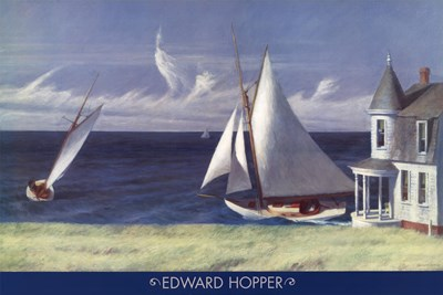 The Lee Shore art print by Edward Hopper for $43.75 CAD
