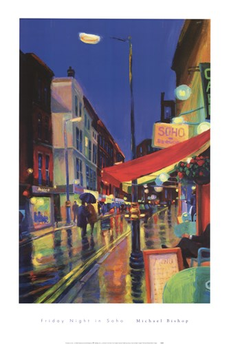 Friday Night In Soho art print by Unknown for $40.00 CAD