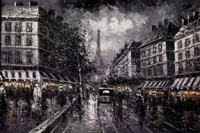 Eiffel View II art print by Unknown for $40.00 CAD