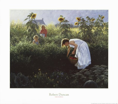 Under the Sunflowers art print by Robert Duncan for $37.50 CAD