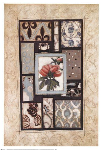Nature's Montage I art print by Maria Eva for $52.50 CAD