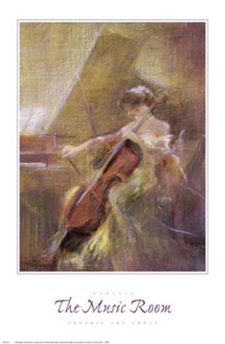The Music Room art print by Marysia for $45.00 CAD