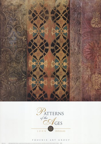 Patterns of the Ages III art print by John Douglas for $37.50 CAD