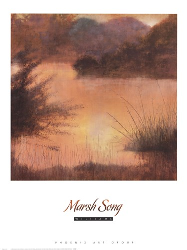 Marsh Song art print by Williams for $50.00 CAD