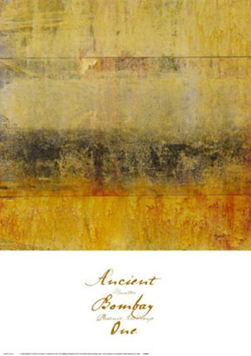 Ancient Bombay One art print by June Hunter for $45.00 CAD