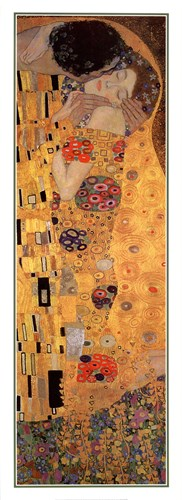 The Kiss (detail panel) art print by Gustav Klimt for $50.00 CAD