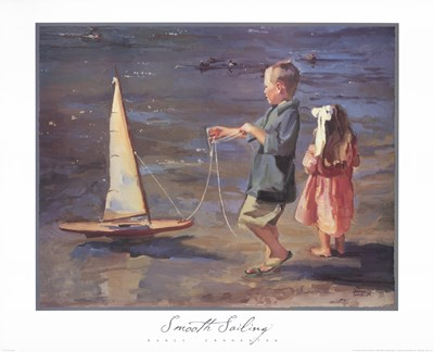 Smooth Sailing art print by Nancy Seamons Crookston for $37.50 CAD
