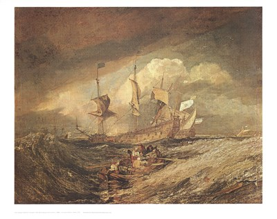 Boats with Anchors art print by J.M.W. Turner for $23.75 CAD