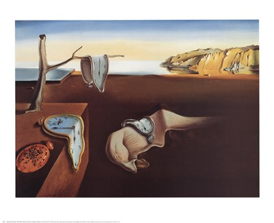 The Persistence of Memory, c.1931 art print by Salvador Dali for $23.75 CAD