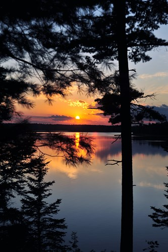 Sunset art print by Doug Ohman for $85.00 CAD