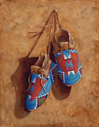 A Child's Footsteps art print by Marty LeMessurier for $33.75 CAD