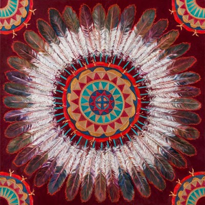 Feather Power art print by Marty LeMessurier for $32.50 CAD