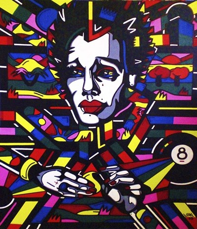 Eightball The Painting art print by Abstract Graffiti for $37.50 CAD