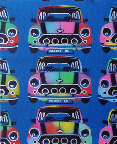 Mini art print by Abstract Graffiti for $23.75 CAD