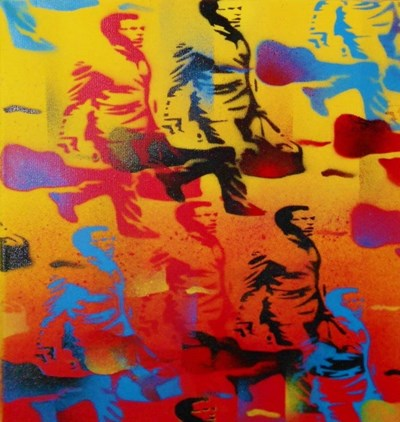 Rush Hour art print by Abstract Graffiti for $36.25 CAD