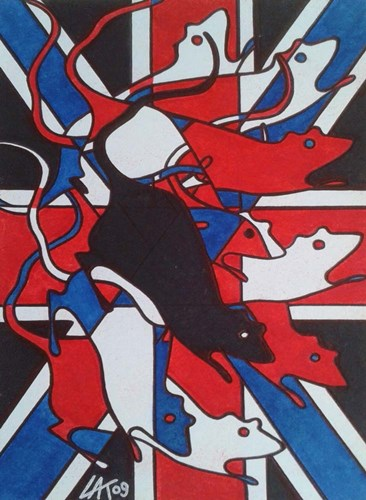 Union Rat art print by Abstract Graffiti for $41.25 CAD
