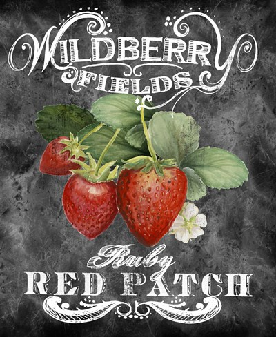 Wildberry Fields art print by Art Licensing Studio for $103.75 CAD