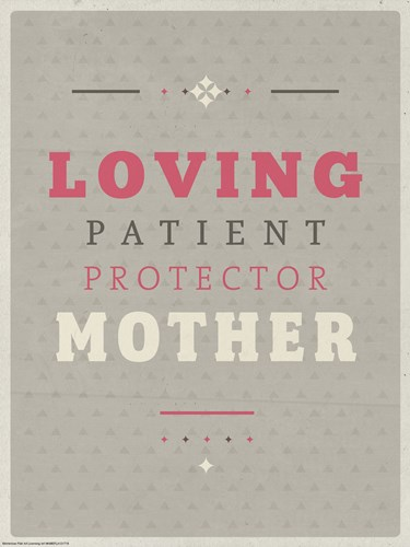Loving Mother art print by American Flat for $41.25 CAD