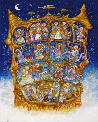 And The Angels Sing art print by Bill Bell for $40.00 CAD