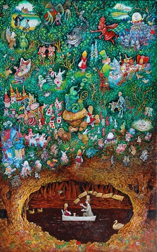 There Once Was A Girl Named Alice art print by Bill Bell for $46.25 CAD
