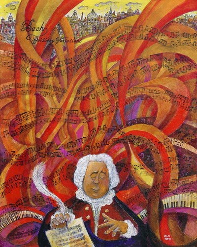 Bach art print by Bill Bell for $40.00 CAD