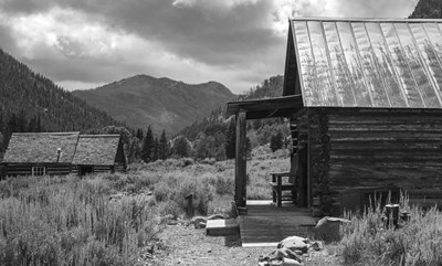 Custer Ghost Town art print by Brenda Petrella Photography LLC for $41.25 CAD