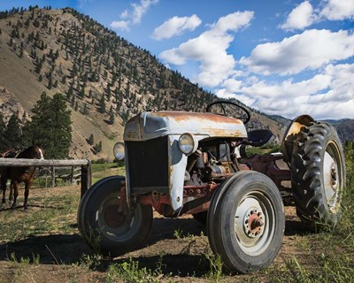 Ford Tractor art print by Brenda Petrella Photography LLC for $48.75 CAD