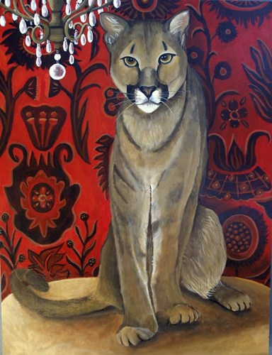 Best Cougar 2 art print by Catherine A Nolin for $40.00 CAD