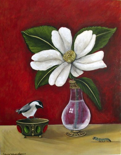 Chickdee art print by Catherine A Nolin for $40.00 CAD