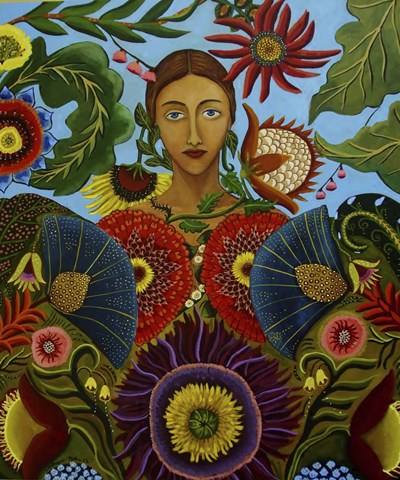 Gaia art print by Catherine A Nolin for $38.75 CAD