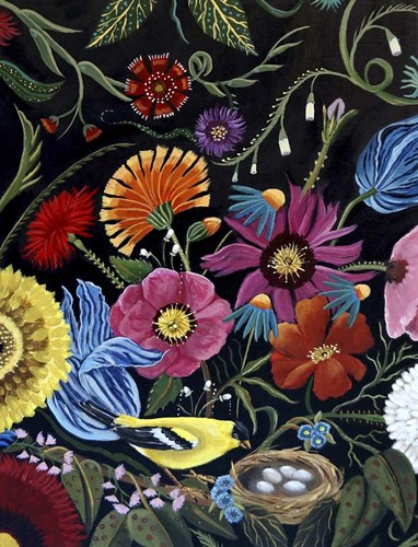 Finch art print by Catherine A Nolin for $41.25 CAD