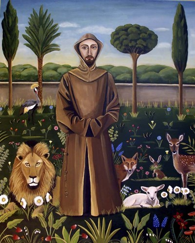 Francis 3 art print by Catherine A Nolin for $40.00 CAD