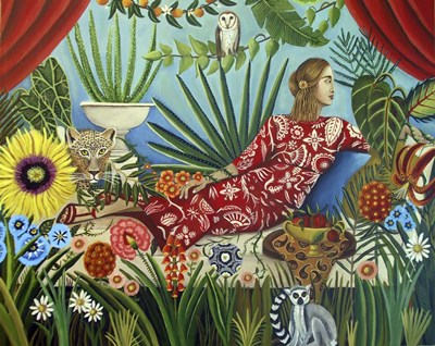 Off the Grid art print by Catherine A Nolin for $40.00 CAD