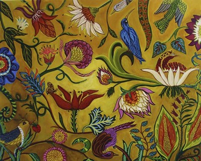 Nature Network art print by Catherine A Nolin for $40.00 CAD