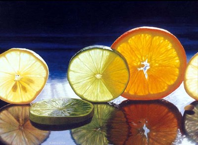 Juicy Fruit art print by Cecile Baird for $66.25 CAD
