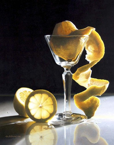Twisted Lemon art print by Cecile Baird for $65.00 CAD