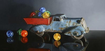 Antique Toy Truck art print by Cecile Baird for $51.25 CAD