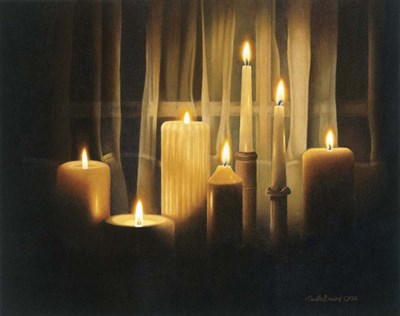 Burning Bright art print by Cecile Baird for $68.75 CAD