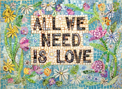 All We Need is Love art print by Charlsie Kelly for $66.25 CAD
