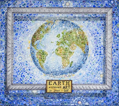 Earth without Art art print by Charlsie Kelly for $45.00 CAD