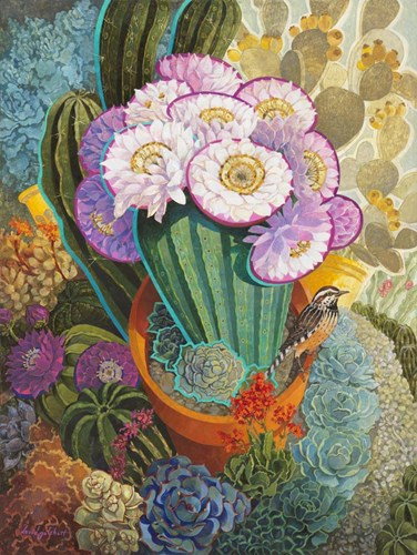 The Prickly Garden art print by David Galchutt for $41.25 CAD