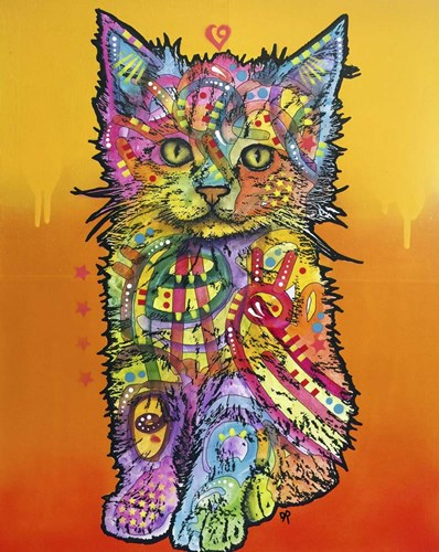 Love Kitten art print by Dean Russo for $56.25 CAD