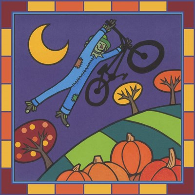 Stitch The Scarecrow Bike 2 art print by Denny Driver for $35.00 CAD