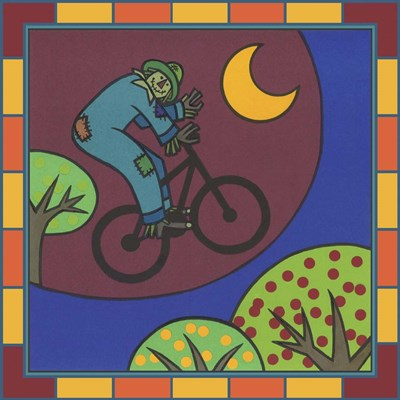 Stitch The Scarecrow Bike 3 art print by Denny Driver for $35.00 CAD