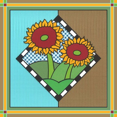 Sunflowers 1 art print by Denny Driver for $35.00 CAD