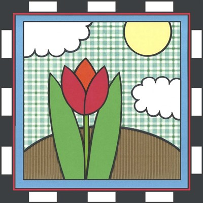 Tulips 5 art print by Denny Driver for $35.00 CAD