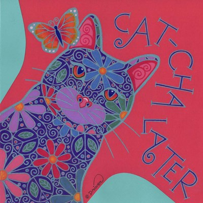 Cat IV art print by Denny Driver for $35.00 CAD