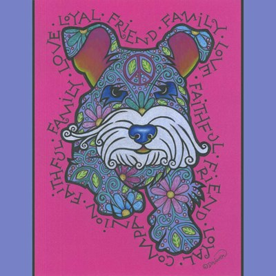 Miniature Schnauzer art print by Denny Driver for $35.00 CAD