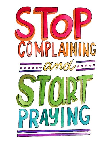 Stop Complaining art print by Elizabeth Caldwell for $40.00 CAD