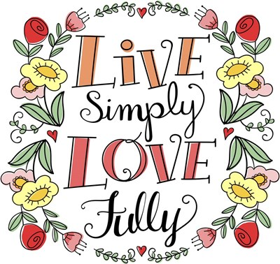 Love Simply Color art print by Elizabeth Caldwell for $33.75 CAD